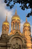 Towers Of Russian Orthodox Church