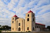 picture of guadalupe  - Historical Our Lady of Guadalupe church in Carrizo Springs Texas - JPG