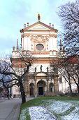 Church Of St. Ignatius Of Loyola In Prague, Czech Republic