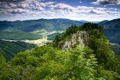 Green Mountains Photo Was Taken From Castle Muran In Mountains Muranska Planina Slovakia