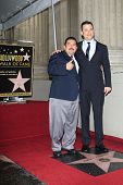 LOS ANGELES -JAN 25:  Guillermo Rodriguez, Jimmy Kimmel at the Hollywood Walk of Fame ceremony for J