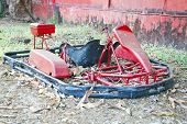 Dismantled Go Kart Needing Repairs