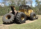 Logging Skidder