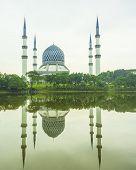 Mosque of Sultan Salahuddin Abdul Aziz Syah in Selangor, Malaysia