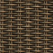 Braided Wicker Background
