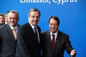 Antonis Samaras and Nicos Anastasiades