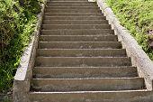 Escadas de concretas
