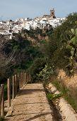 Path To Arcos De La Frontera
