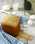 Homemade Wheat Bread With  Bran