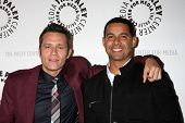 LOS ANGELES - SEP 30:  Seamus Dever, Jon Huertas at the An Evening with Castle at Paley Center for M