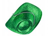 Green Carnival Hat Isolated