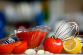 Preparing Tomato Poignant Sauce poster