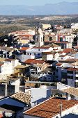 White town, Loja, Spain.