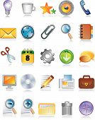 Shiny Icons For Web And Internet