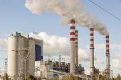 Coal Power Plant In Patnow - Konin, Poland, Europe.