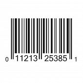 Bar code vector illustration isolated. (EPS vector version also available in portfolio)
