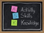 Ask - Acronym For Training And Development