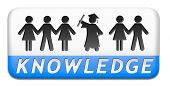 knowledge and wisdom education online learning wisdom icon wisdom button