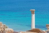 Column By The Sea