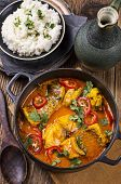 stock photo of stew  - fish stew - JPG