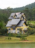 A villa of luxury resort in Dalat, Vietnam.