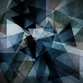 stock photo of alloys  - Abstract background with triangle pattern - JPG