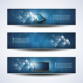 Banner or Header Design - Cloud Computing, Networks