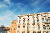image of labia  - view of Labia Palace in Venice in Italy - JPG
