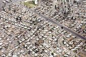 aerial view of neighborhood in Phoenix, Arizona