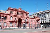 Casa Rosada (pink house)