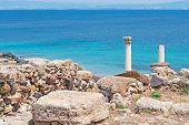 Shoreline With Ruins