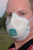 image of osha  - respirator dust mask ppe personal protective equipment - JPG