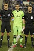 BARCELONA - JAN, 21: Iker Casillas of Real Madrid before the Spanish Kings Cup match between Espanyo