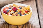 Breakfast (cornflakes And Berries)