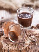 Chocolate Liqueur Shots