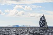Yacht Travelling Adriatic Sea