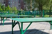 Table Tennis Outdoors