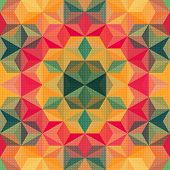 Vector Psychedelic Pattern
