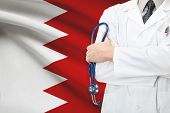 stock photo of bahrain  - Concept of national healthcare system  - JPG