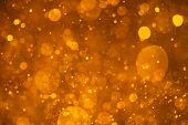 golden shiny bokeh background