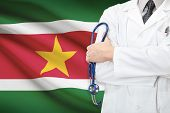 picture of suriname  - Concept of national healthcare system  - JPG