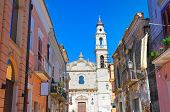 Alleyway. Torremaggiore. Puglia. Italy.