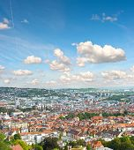 View Of Stuttgart City, Germany
