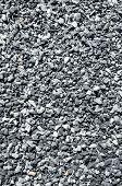 Background Of Gray Granite Gravel