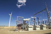 picture of wind-turbine  - high - JPG