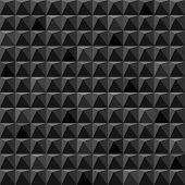 Abstract black cubes geometric background