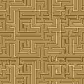 seamless abstract complex maze, labyrinth
