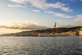 Evening In The Docks Of Trieste