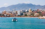 Benalmadena City, Spain, Sailing Catamaran