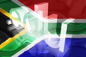 Flag Of South Africa Wavy Education
